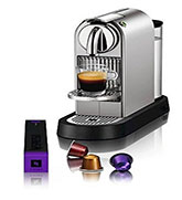 Nespresso Citiz C111 Espresso Maker with Milk Frother-Aeroccino