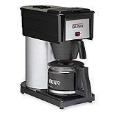 BUNN BX Speed Brew Classic 10-Cup Coffee Brewer, Black