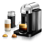 Breville Vertuo Coffee and Espresso Machine Chrome