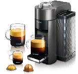Nespresso Vertuo Coffee and Espresso Machine Bundle by De'Longhi